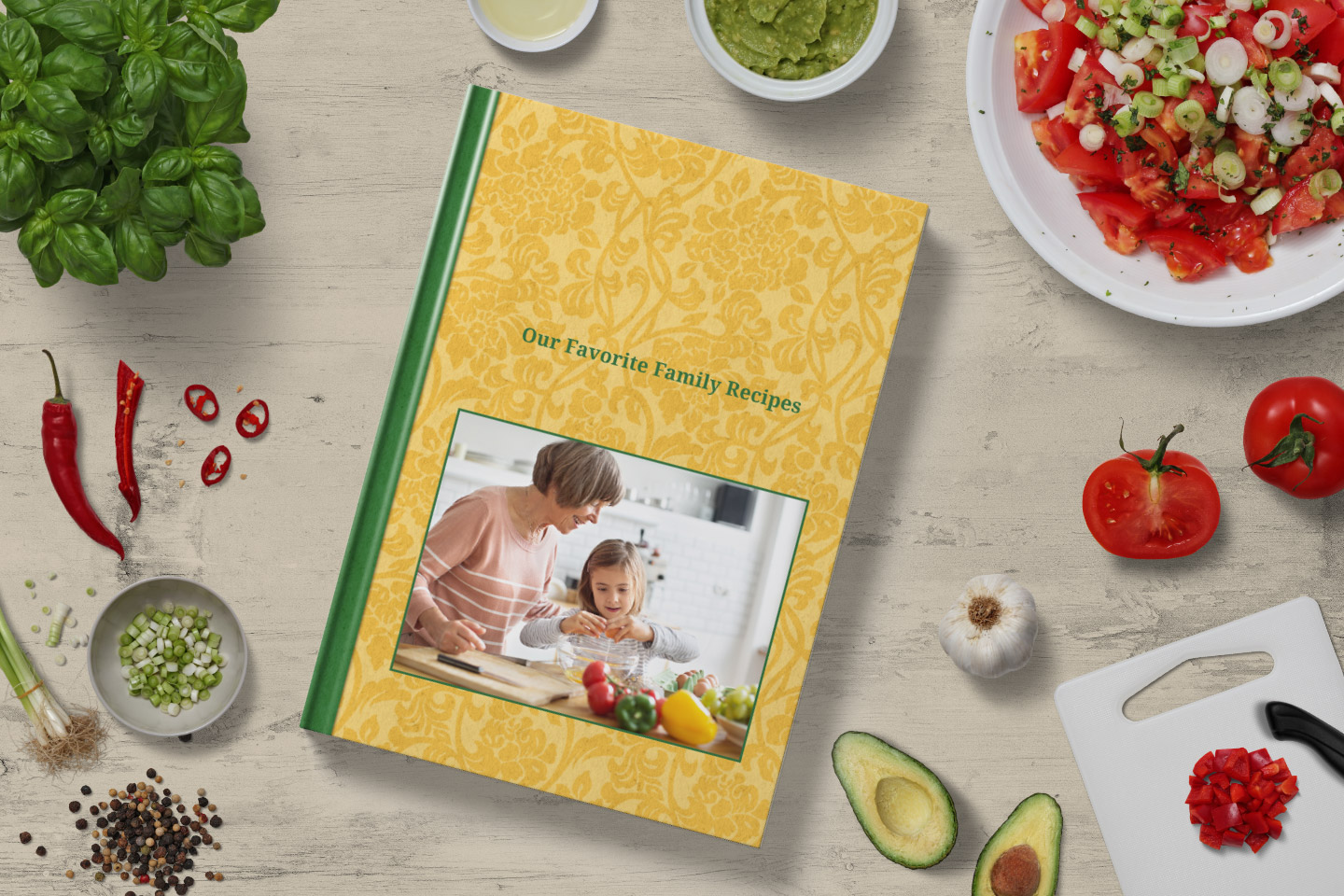 Family Recipe Blog Book
