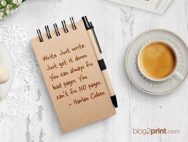 Blog Motivation Blogging Inspiration Harlan Coben Inspirational Quote Quotes