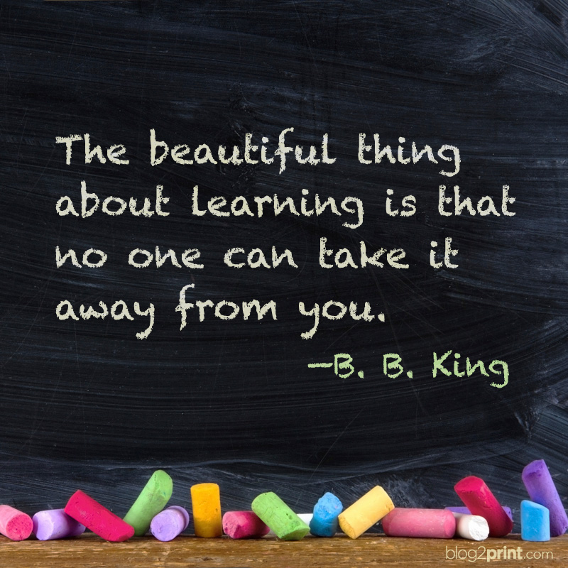 Inspirational Quote Bb King Blog2print