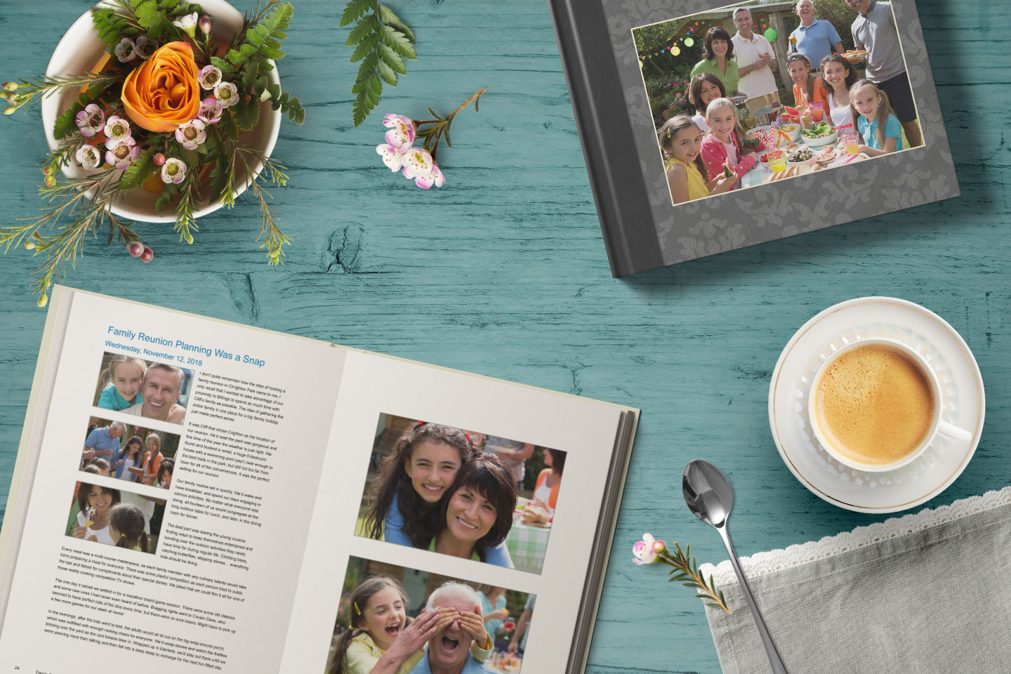 Family Reunion Blog Book